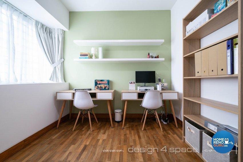 Classical, Oriental Design - Study Room - Condominium - Design by Design 4 Space Pte Ltd
