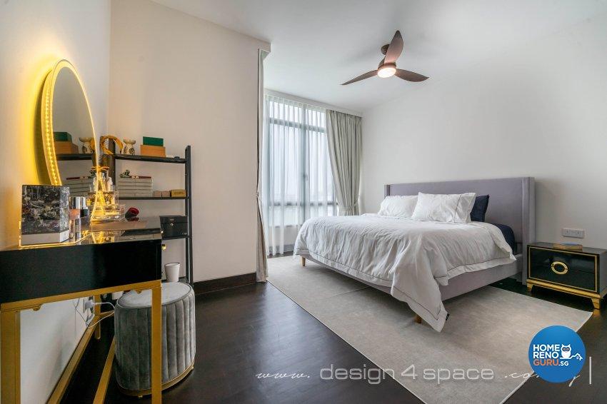 Classical, Oriental Design - Bedroom - Condominium - Design by Design 4 Space Pte Ltd