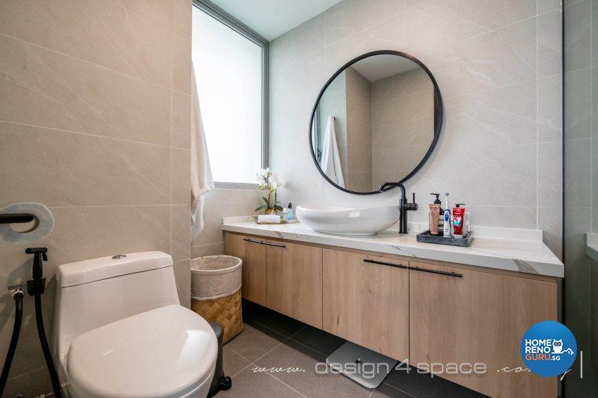 Classical, Oriental Design - Bathroom - Condominium - Design by Design 4 Space Pte Ltd