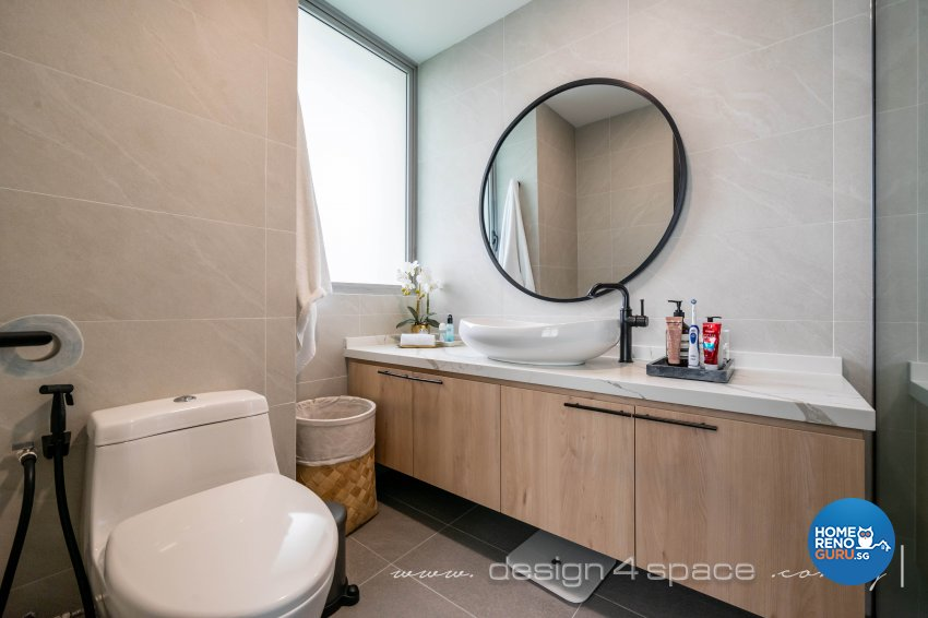 Classical, Oriental Design - Bathroom - Condominium - Design by Design 4 Space Pte Ltd
