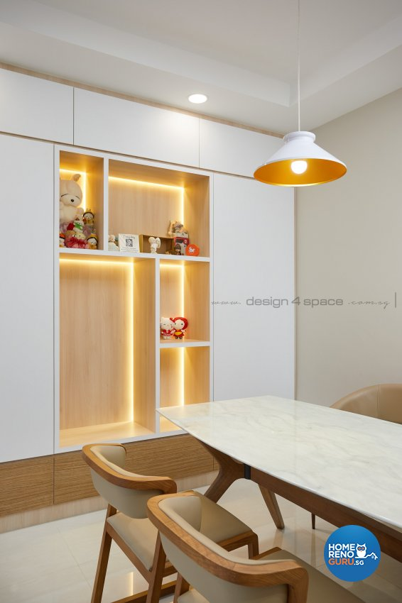 Minimalist Design - Dining Room - Condominium - Design by Design 4 Space Pte Ltd