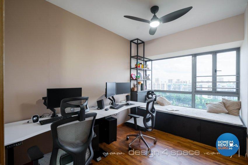 Modern Design - Study Room - Condominium - Design by Design 4 Space Pte Ltd