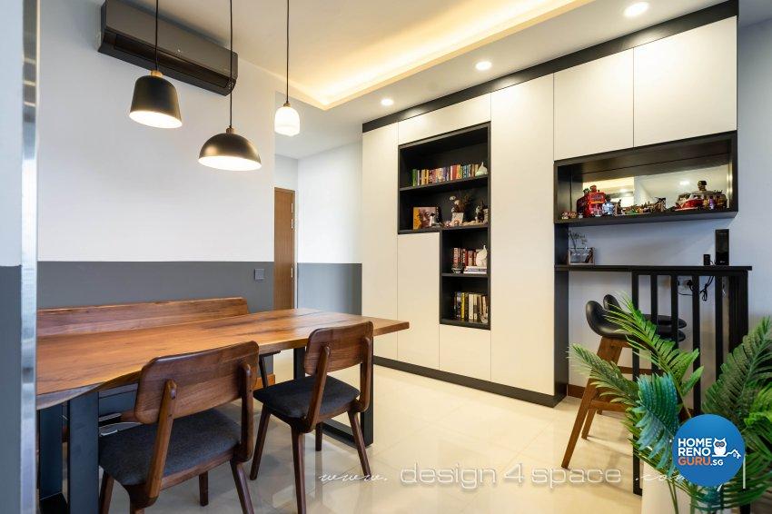 Modern Design - Dining Room - Condominium - Design by Design 4 Space Pte Ltd