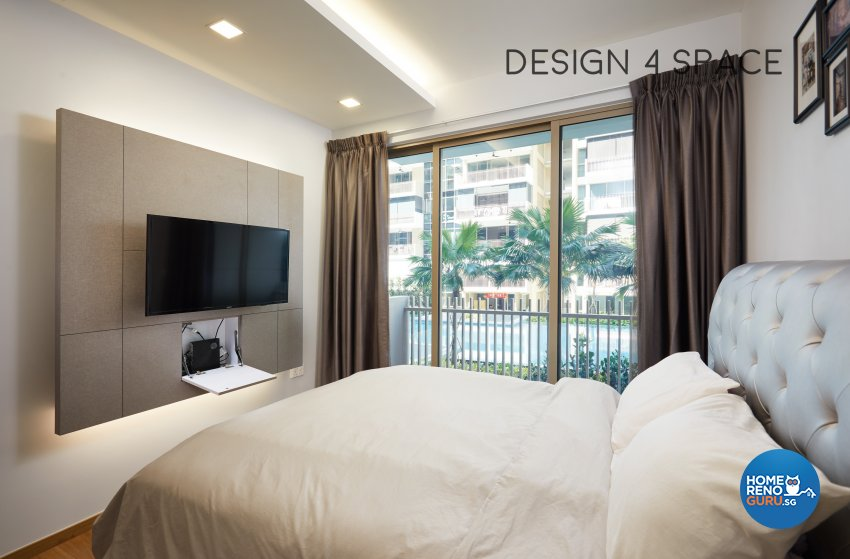 Contemporary, Modern Design - Bedroom - Condominium - Design by Design 4 Space Pte Ltd
