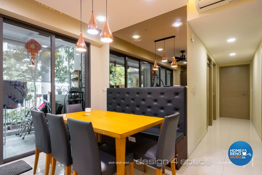 Modern Design - Dining Room - Condominium - Design by Design 4 Space Pte Ltd