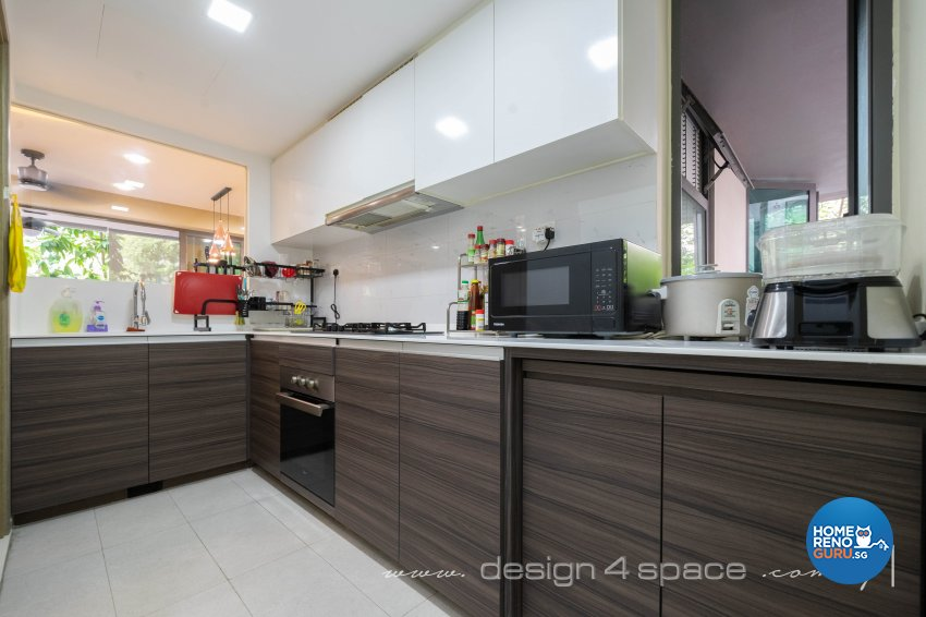 Modern Design - Kitchen - Condominium - Design by Design 4 Space Pte Ltd