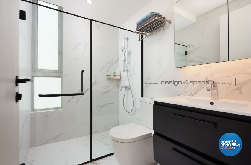 Contemporary, Scandinavian Design - Bathroom - Condominium - Design by Design 4 Space Pte Ltd