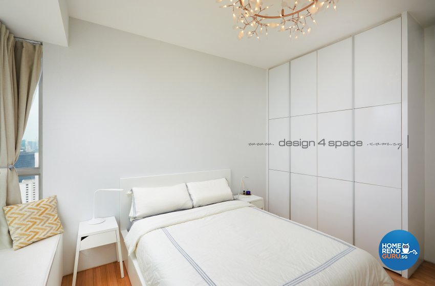 Contemporary, Scandinavian Design - Bedroom - Condominium - Design by Design 4 Space Pte Ltd