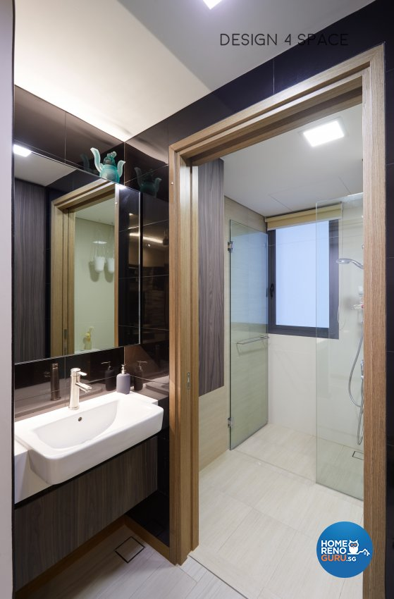 Contemporary, Minimalist, Modern Design - Bathroom - Condominium - Design by Design 4 Space Pte Ltd