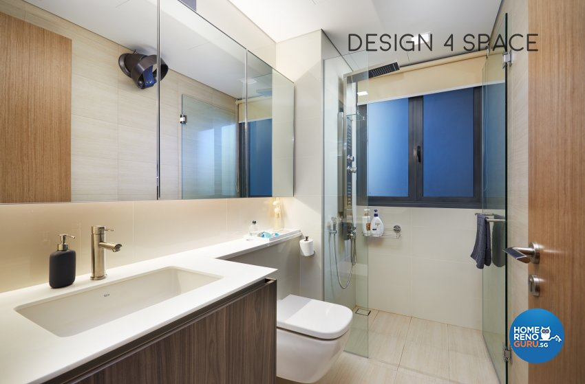 Contemporary, Minimalist, Modern Design - Bathroom - Condominium - Design by Design 4 Space Pte Ltd