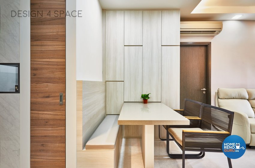 Contemporary, Modern Design - Dining Room - Condominium - Design by Design 4 Space Pte Ltd