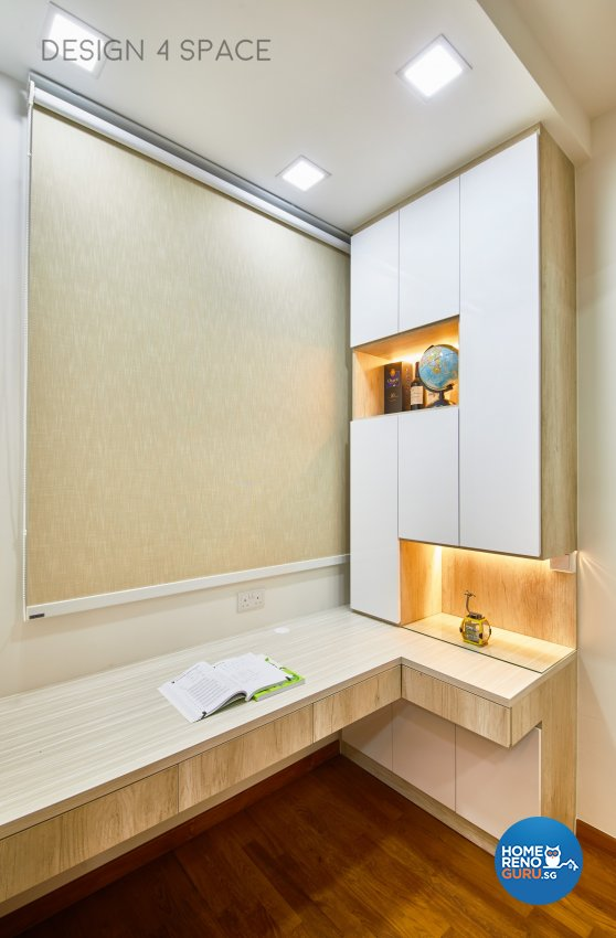 Contemporary, Modern Design - Study Room - Condominium - Design by Design 4 Space Pte Ltd