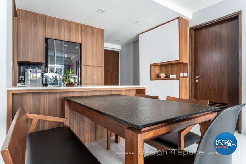 Contemporary Design - Dining Room - Condominium - Design by Design 4 Space Pte Ltd