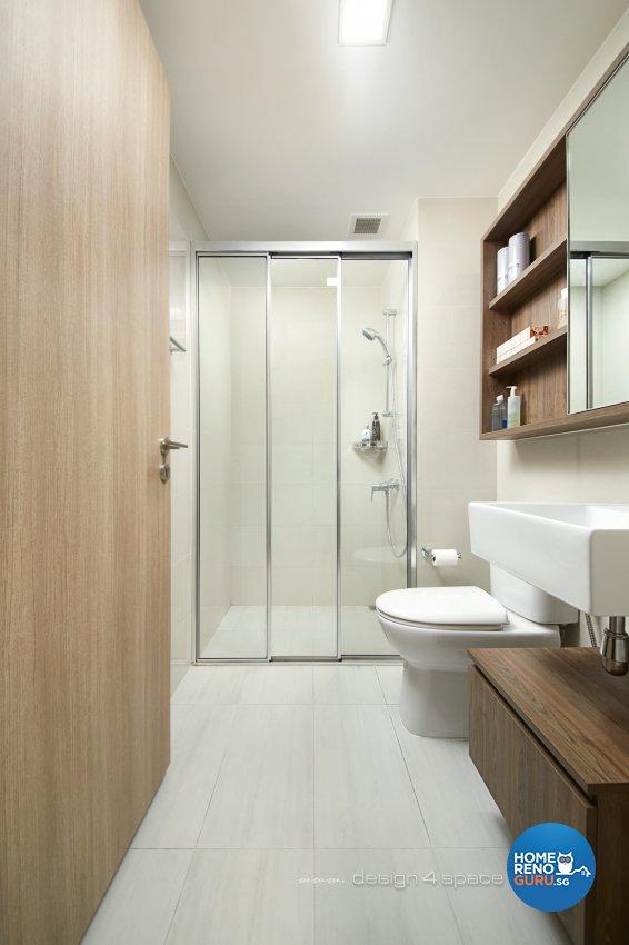 Modern Design - Bathroom - Condominium - Design by Design 4 Space Pte Ltd
