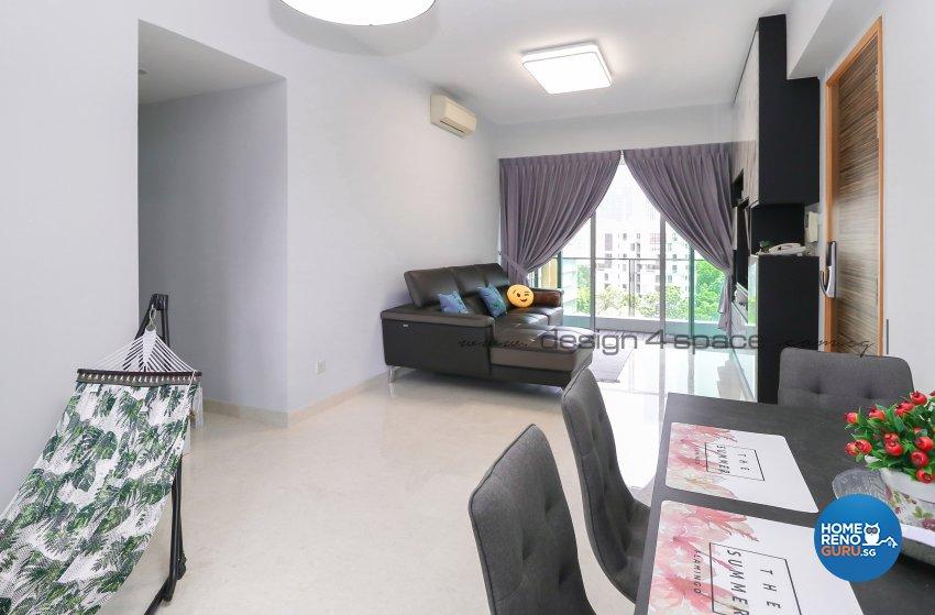 Contemporary Design - Dining Room - Condominium - Design by Design 4 Space Pte Ltd