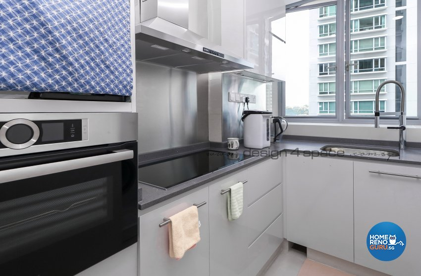 Contemporary Design - Kitchen - Condominium - Design by Design 4 Space Pte Ltd
