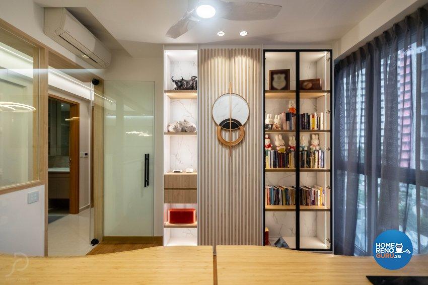 Contemporary, Scandinavian Design - Study Room - Condominium - Design by Design 4 Space Pte Ltd