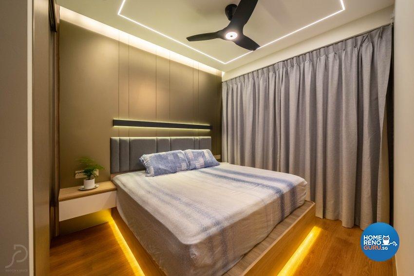 Contemporary, Scandinavian Design - Bedroom - Condominium - Design by Design 4 Space Pte Ltd