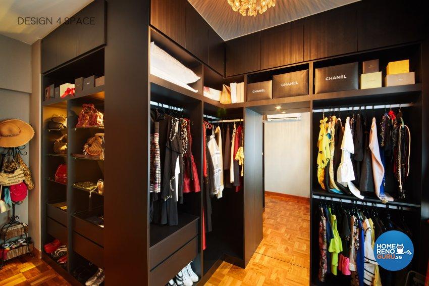 Contemporary, Modern Design - Bedroom - Condominium - Design by Design 4 Space Pte Ltd