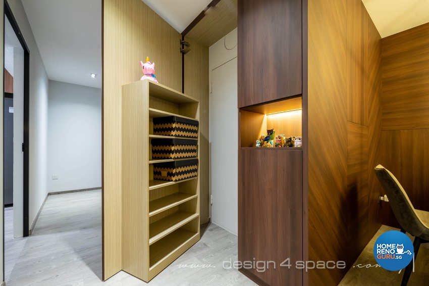 Contemporary, Modern Design - Living Room - HDB Executive Apartment - Design by Design 4 Space Pte Ltd