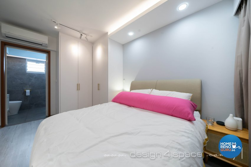 Contemporary, Modern Design - Bedroom - HDB 3 Room - Design by Design 4 Space Pte Ltd