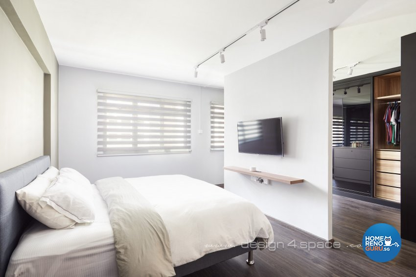 Minimalist, Others Design - Bedroom - HDB 3 Room - Design by Design 4 Space Pte Ltd