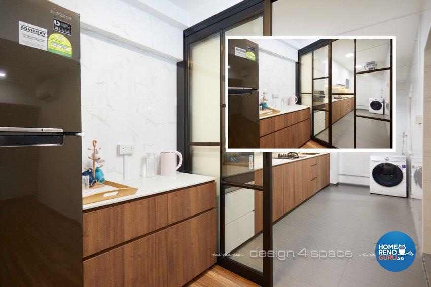 Minimalist, Others Design - Kitchen - HDB 3 Room - Design by Design 4 Space Pte Ltd