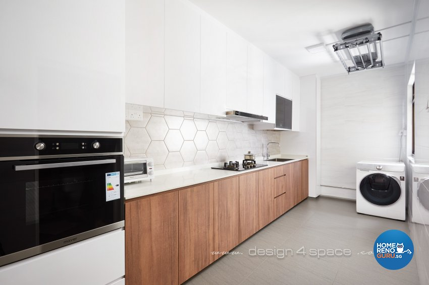 Minimalist, Others Design - Kitchen - HDB 3 Room - Design by Design 4 Space Pte Ltd