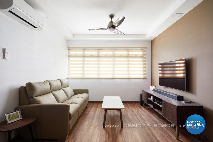 Minimalist, Others Design - Living Room - HDB 3 Room - Design by Design 4 Space Pte Ltd