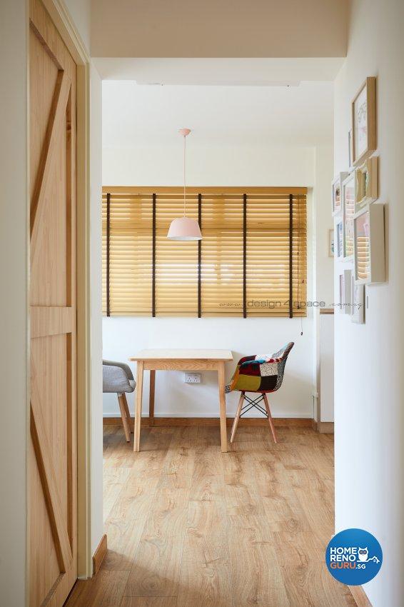 Minimalist, Modern Design - Dining Room - HDB 3 Room - Design by Design 4 Space Pte Ltd