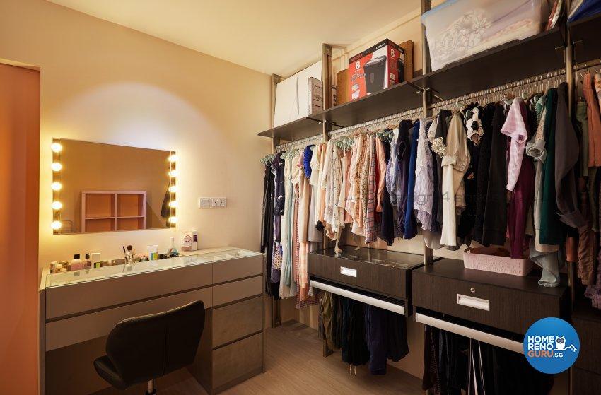 Contemporary Design - Bedroom - HDB 3 Room - Design by Design 4 Space Pte Ltd