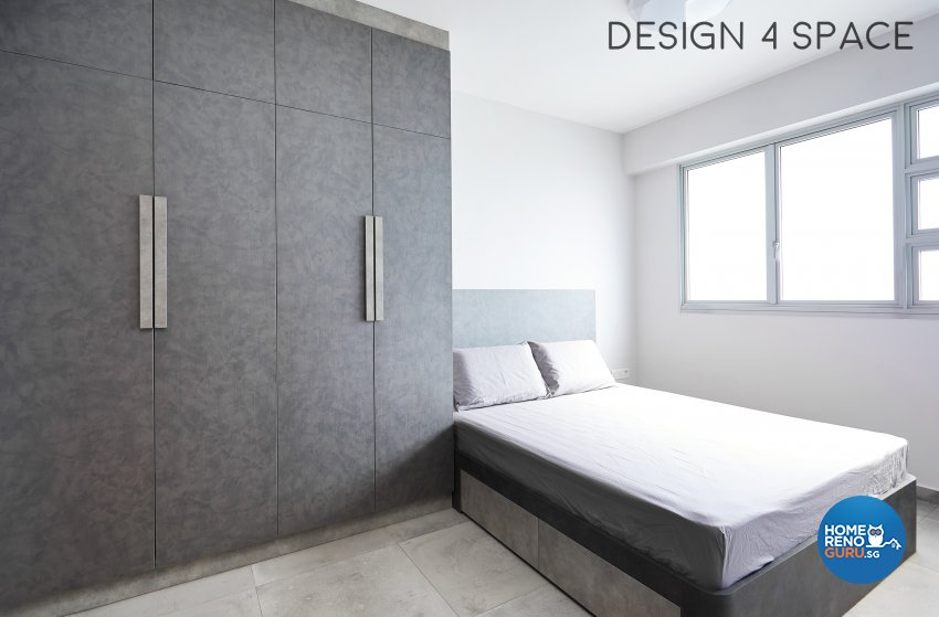 Contemporary, Minimalist Design - Bedroom - HDB 3 Room - Design by Design 4 Space Pte Ltd