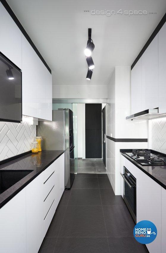 Modern Hdb Decor: Design 4 Space Pte Ltd Hdb 3 Room 93a Telok Blangah 4466