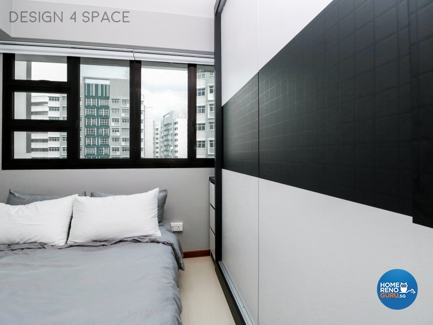 Contemporary, Minimalist, Modern Design - Bedroom - HDB 3 Room - Design by Design 4 Space Pte Ltd