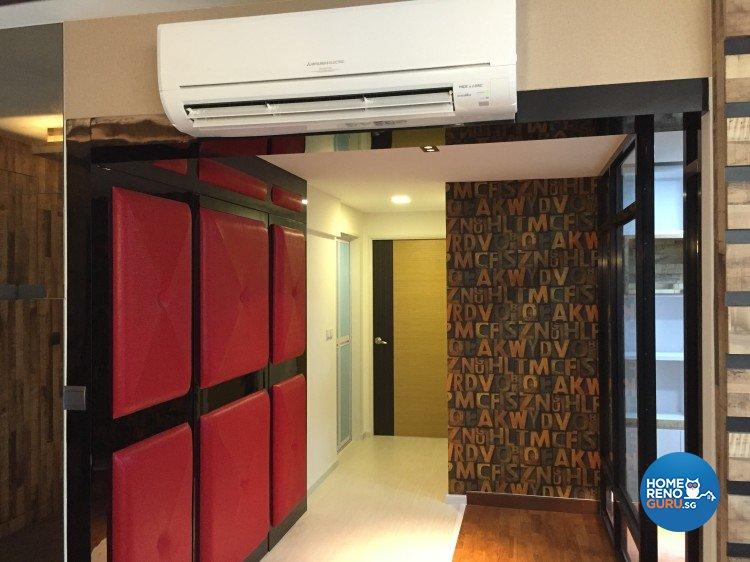Contemporary, Minimalist Design - Living Room - HDB 4 Room - Design by Design 4 Space Pte Ltd