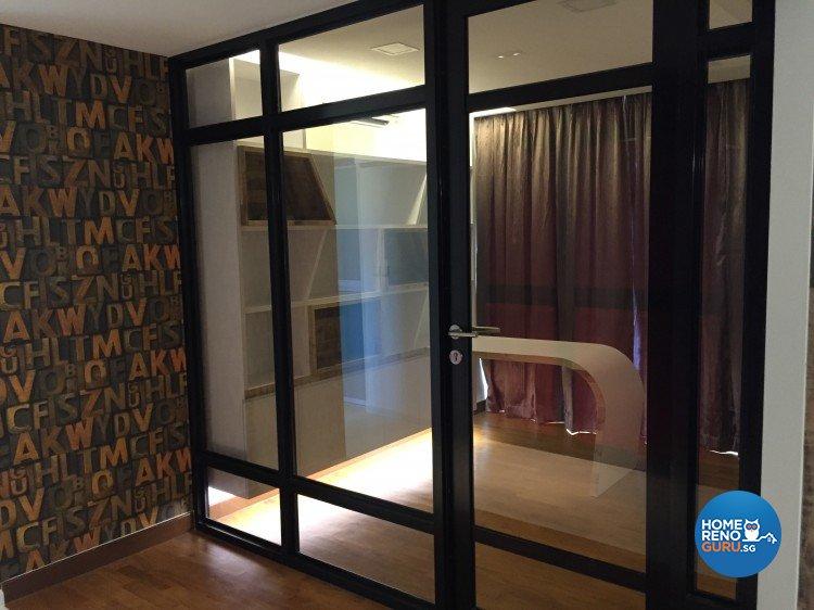Contemporary, Minimalist Design - Study Room - HDB 4 Room - Design by Design 4 Space Pte Ltd