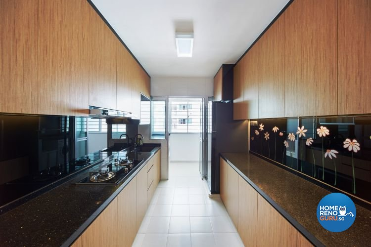 Modern, Scandinavian Design - Kitchen - HDB 5 Room - Design by Design 4 Space Pte Ltd