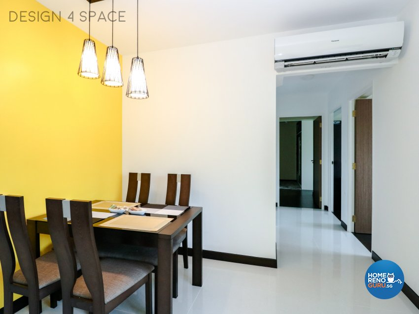 Contemporary, Minimalist, Modern Design - Dining Room - HDB 4 Room - Design by Design 4 Space Pte Ltd