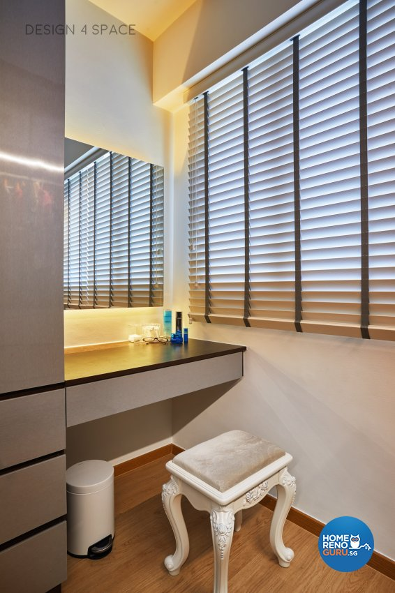 Contemporary, Country, Modern Design - Bedroom - HDB 4 Room - Design by Design 4 Space Pte Ltd