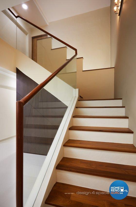 Modern, Scandinavian Design - Living Room - HDB 4 Room - Design by Design 4 Space Pte Ltd