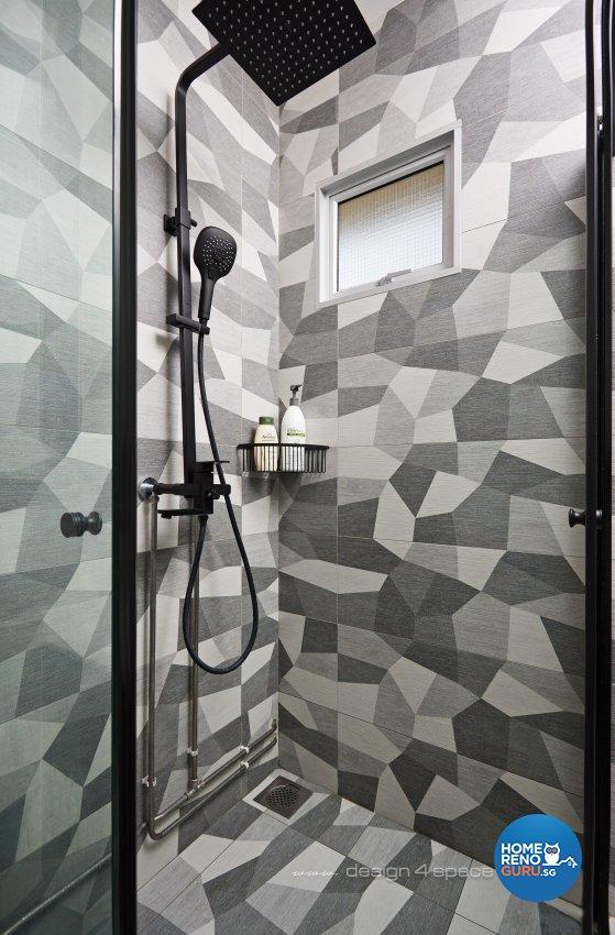 Modern, Scandinavian Design - Bathroom - HDB 4 Room - Design by Design 4 Space Pte Ltd