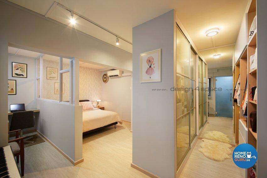 Scandinavian Design - Bedroom - HDB 4 Room - Design by Design 4 Space Pte Ltd