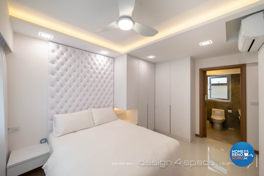 Contemporary, Minimalist Design - Bedroom - HDB 4 Room - Design by Design 4 Space Pte Ltd