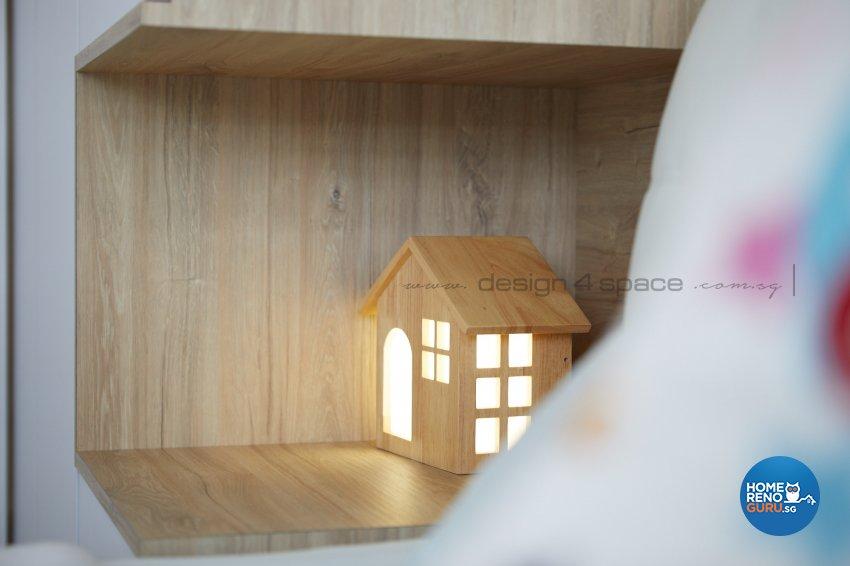 Contemporary, Scandinavian Design - Bedroom - HDB 4 Room - Design by Design 4 Space Pte Ltd