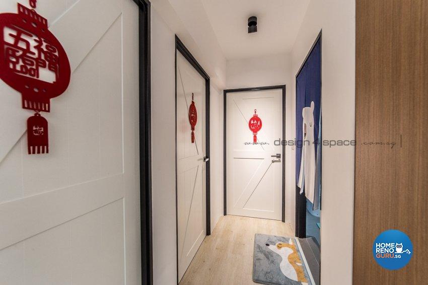 Contemporary, Modern, Scandinavian Design - Living Room - Condominium - Design by Design 4 Space Pte Ltd