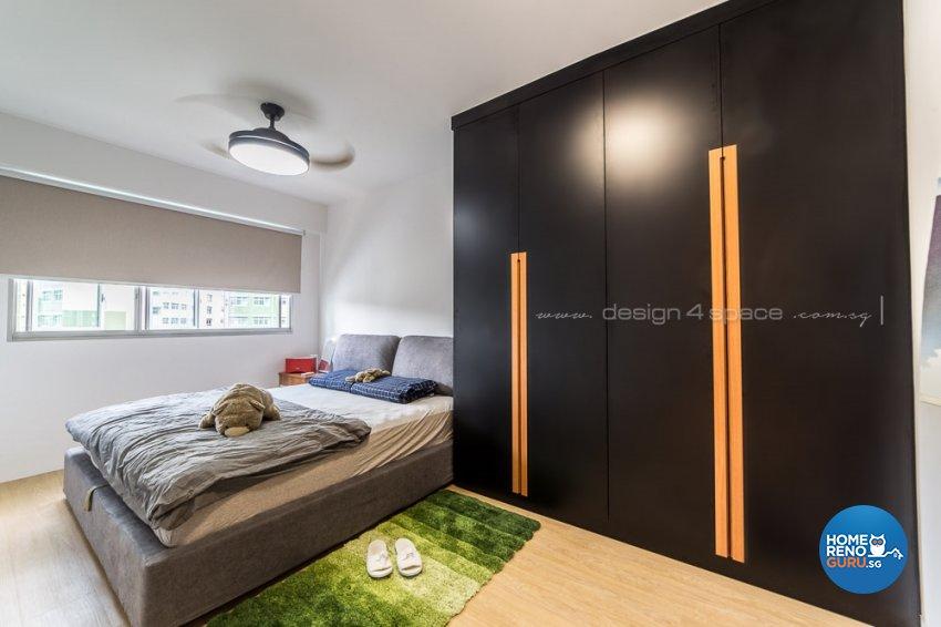 Contemporary, Modern, Scandinavian Design - Bedroom - Condominium - Design by Design 4 Space Pte Ltd