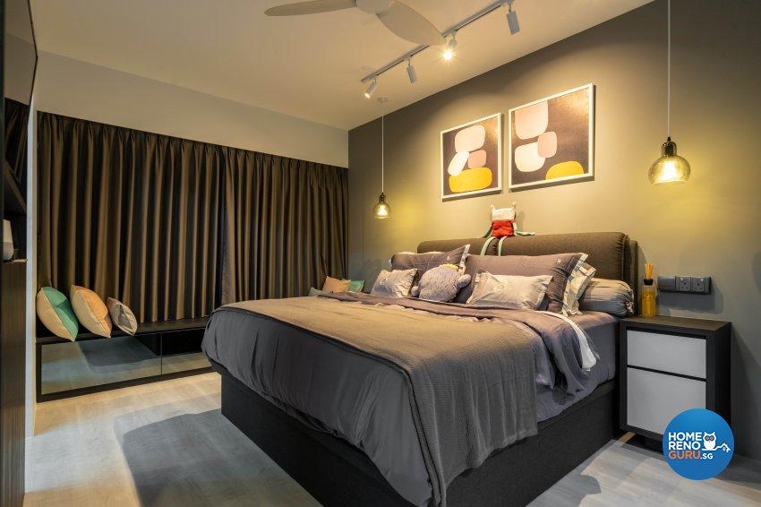 Minimalist Design - Bedroom - HDB 4 Room - Design by Design 4 Space Pte Ltd