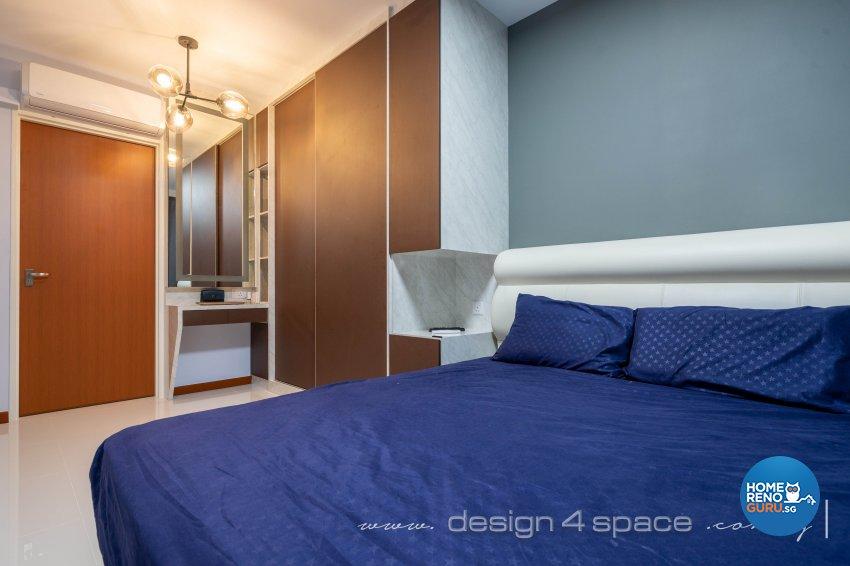 Modern Design - Bedroom - HDB 4 Room - Design by Design 4 Space Pte Ltd