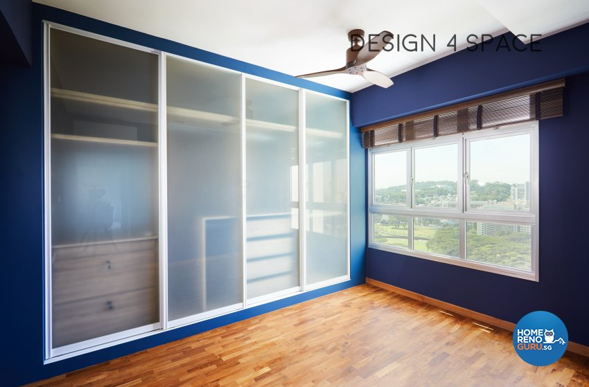 Contemporary, Minimalist, Modern Design - Bedroom - HDB 4 Room - Design by Design 4 Space Pte Ltd