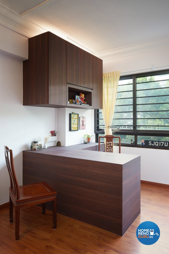 4 Room Hdb Design: Design 4 Space Pte Ltd Hdb 4 Room 643 Choa Chu Kang 5300